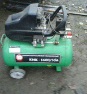 Компрессор 220 вольт 50 литров. Торг.