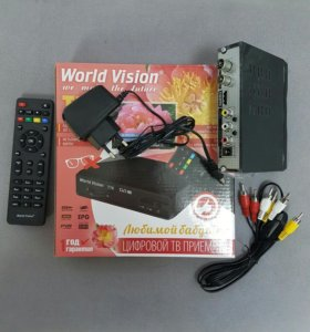 DVB T2 приемник Цифровое ТВ. Новый