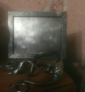 Кованная рамка под семейное фото
