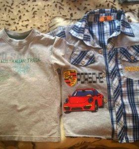 футболка и рубашка