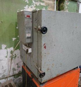Печь для прокалки электродов ЭПЭ-140/400