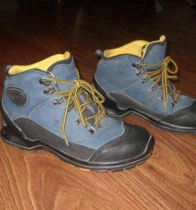 зимнии ботинки