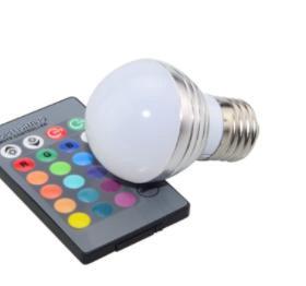 RGB лампочка на пульте
