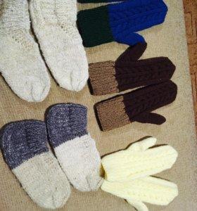 Варежки, носки, перчатки