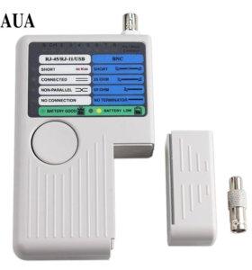 Новый тестер RJ11 RJ45 USB BNC UTP STP LAN