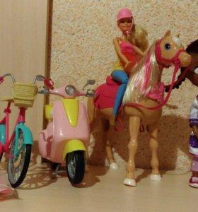 Игрушки Barbie и Доктор Плюшева Disney Store