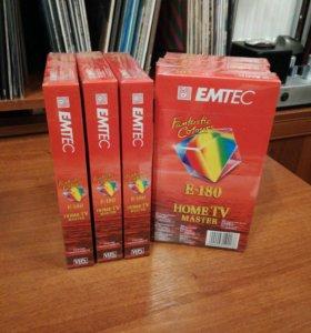 DVD кассеты VHS EMTEC E-180(Germany)