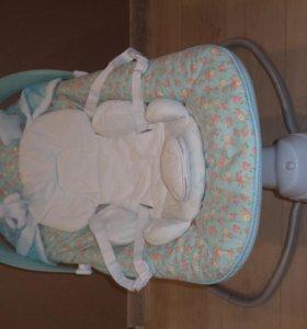 Укачивающий центр Happy Baby Dinky Blue