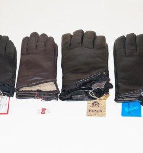 Новые Кожаные перчатки с примеркой на дом