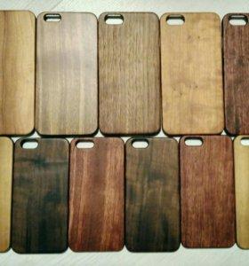 Чехол на Iphone 6,6s,6plus, 6S plus из дерева