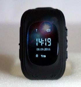 Детские часы с gps Q50  от Wonlex (черные)