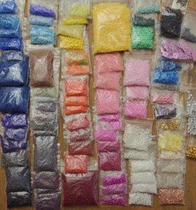 Набор бисера (81 пакетик)
