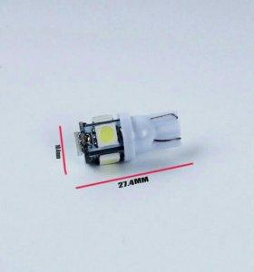 Светодиодная лампа Т10 (W5W)