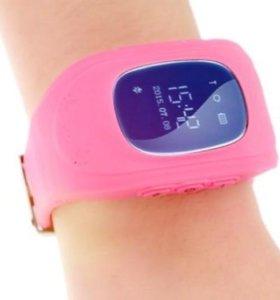 Детские часы с gps Q50 от Wonlex (розовые)