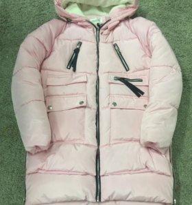 Куртка-трансформер розовая