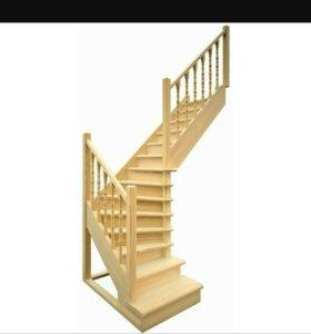 Сборка, монтаж и доработк готовых покупных лестниц