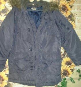 Куртка на мальчика 116