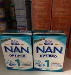 Готовая молочная смесь с рождения NAN