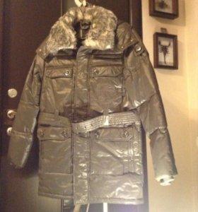 Новая удлиненная куртка L