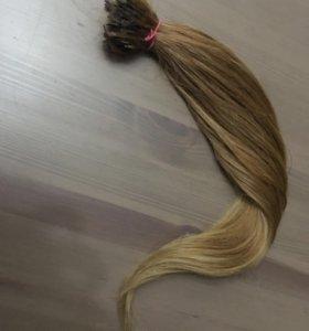 Волосы для наращивания (натуральные , славянка)