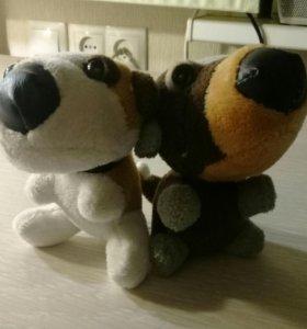 Собачки мягкие игрушки