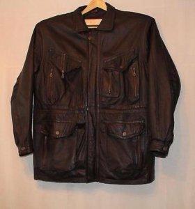 Продам натуральную мужскую кожаную куртку.