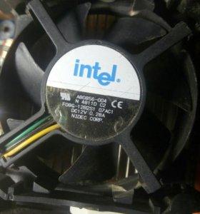Материнка + процесор + кулер
