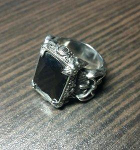 Перстень из нержавеющей стали с цирконом KSS876