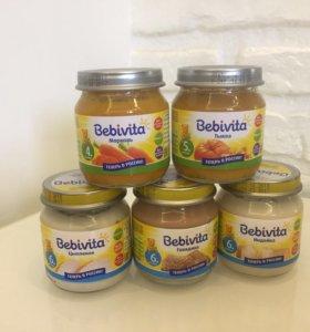 Пюре детское овощное БебиВита