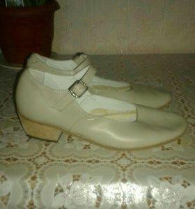 Народные туфли для танцев, пошитые на заказ, новые