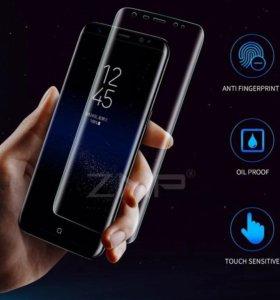 Закалённое стекло на  Samsung Galaxy S8 Plus
