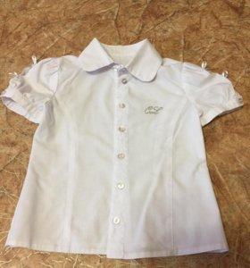 Стильная блузка и сарафан для девочки