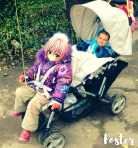 Супер коляска для двух деток