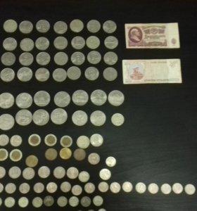 колекция монет ссср