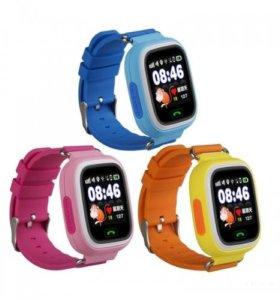Детские часы-телефон с GPS Q90
