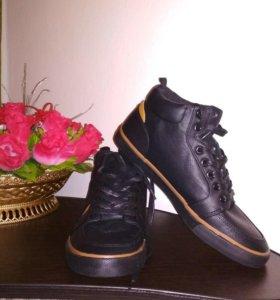Осень и весна мужская обувь