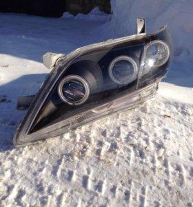 Toyota Camry v40 Альтернативная оптика Angel eyes