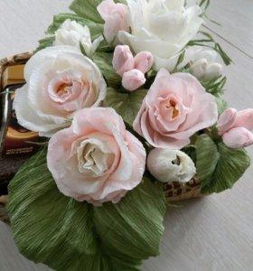 Цветы с конфетам