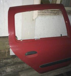 Дверь задняя правая Renault Clio 2 Symbol