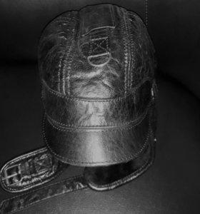 Шлем кожаные