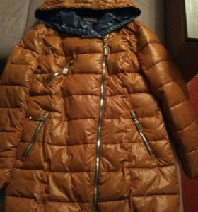 Куртка зимняя, одевалась всего два раза.