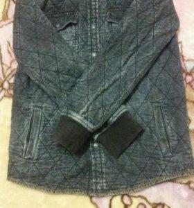 Бомбер-легкая стеганая куртка