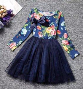 Нарядные новые платья для девочек