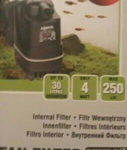 Фильтр для аквариума до 30л