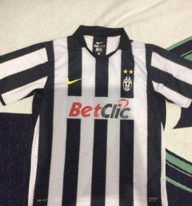 Футбольная футболка игровая майка Ювентус Nike