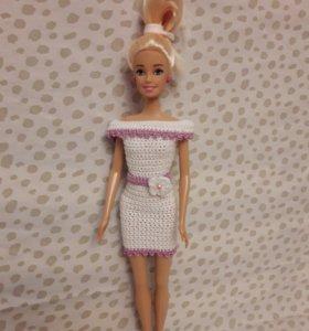 Элегантное платье на Барби