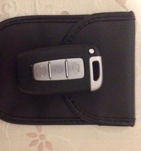 Экранирующий чехол для ключа авто