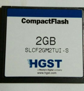 Compact flash 2Gb hgst Cf