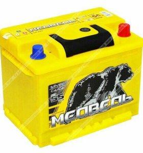 Новый аккумулятор Тюменский Медведь 55Ah