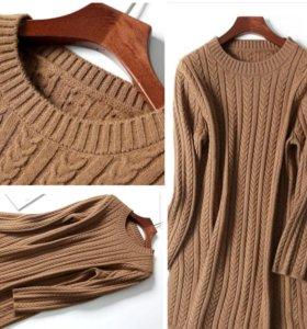 Вязаное платье👍